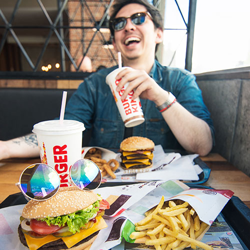Fotografia Burger King